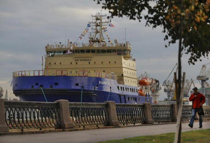 icebreaker Vladivostok technical specifications