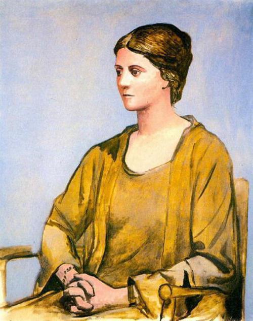 the portrait of olga by pablo File:pablo picasso, 1917-18, portrait d'olga dans un fauteuil (olga in an armchair), oil on canvas, 130 x 888 cm, musée picasso, paris, francejpg.