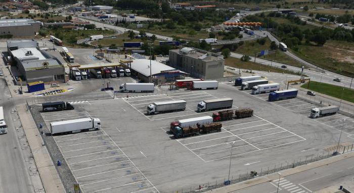 парковочное место размеры гост
