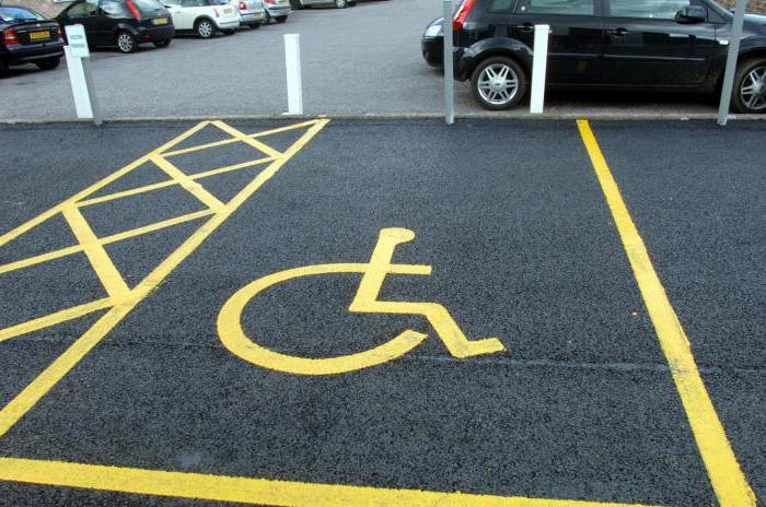 минимальный размер парковочного места