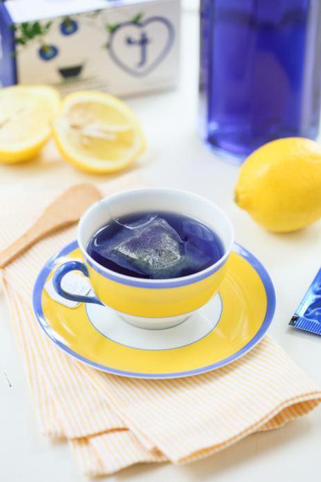синий чай отзывы для похудения
