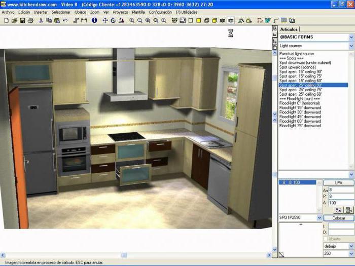 программы для проектирования кухни 3d