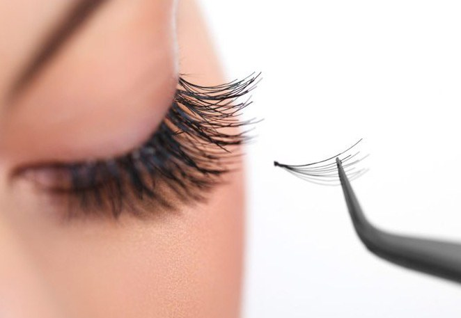 types of eyelash extensions with photos