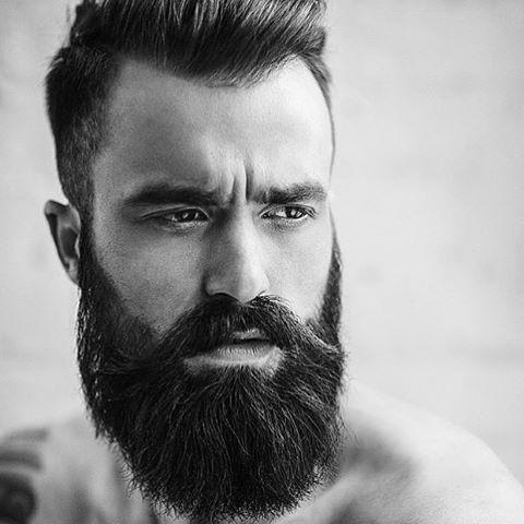 stylish beard shape