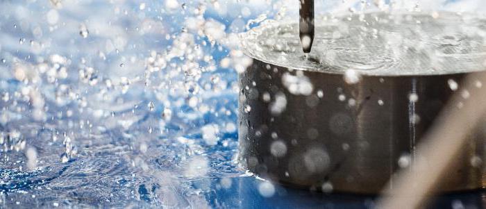 Резка металла водой под давлением видео