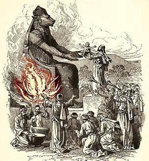sacrifices to Moloch