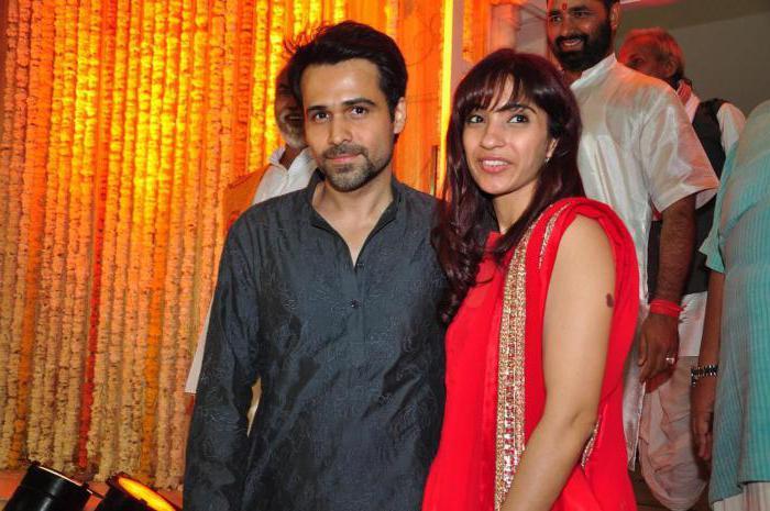 Emran Hashmi and his wife