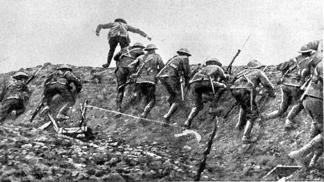 1916 somme battle