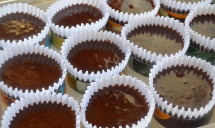 капкейки с шоколадным кремом рецепты