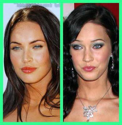 Megan Fox before surgery and after