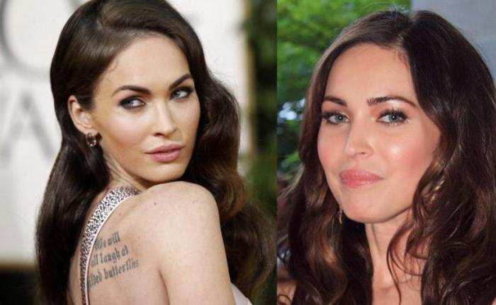 Megan Fox Plastic surgery before and after