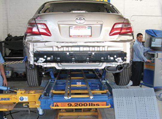 виды стапелей для кузовного ремонта