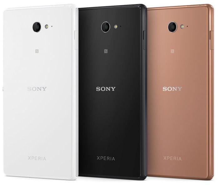 Sony Xperia m2 Aqua characteristics