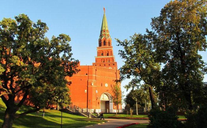 Borovitskaya tower of the Kremlin