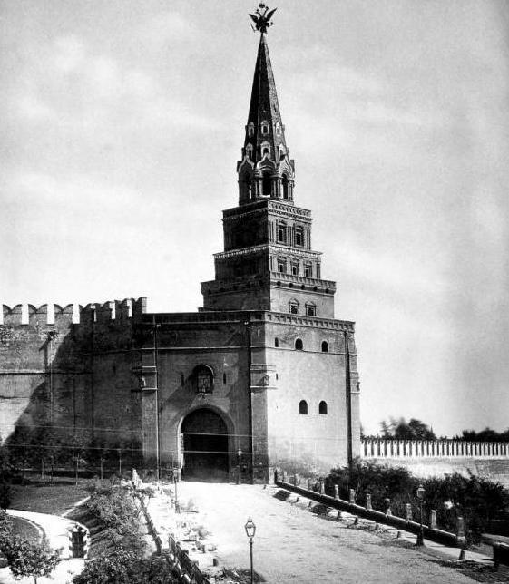 Borovitskaya tower: photo