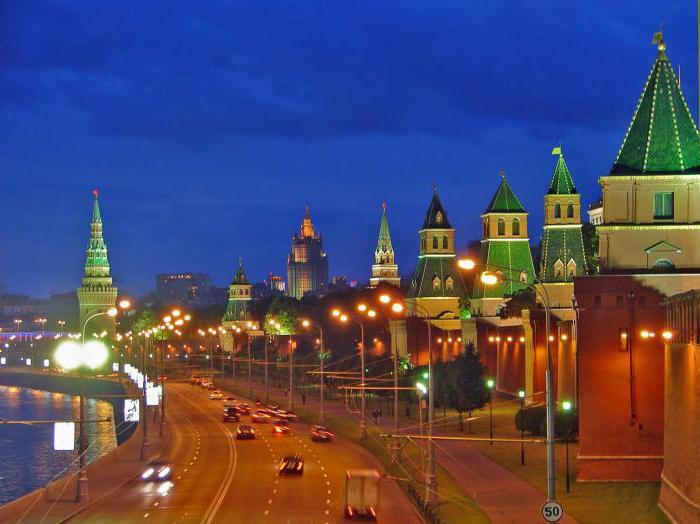 Borovitskaya tower of Moscow