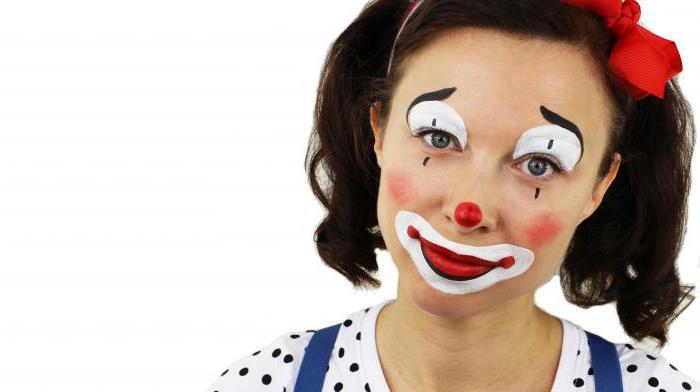 Грим клоуна в домашних условиях
