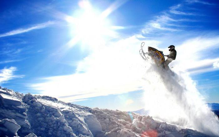 snowmobiles model range brp