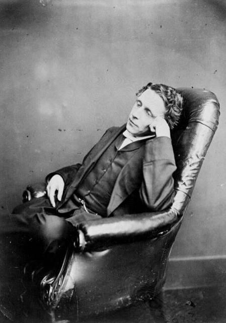 Lewis Carroll brief biography for children