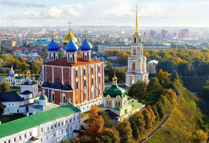 that symbolizes the emblem of Ryazan