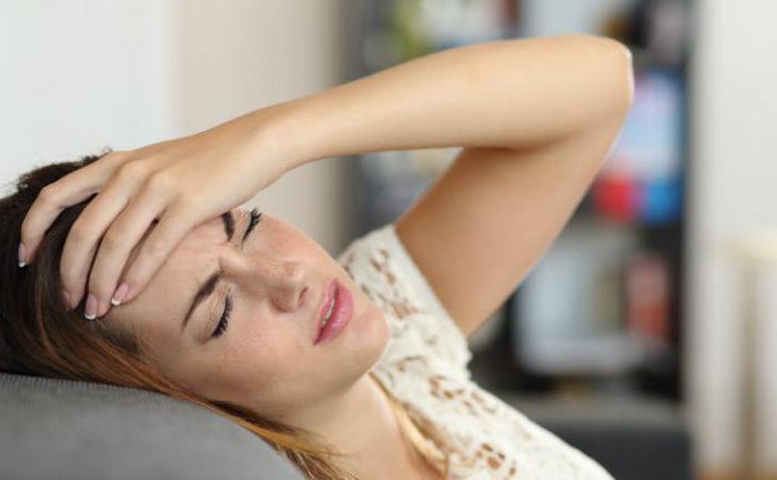 headache when bending down