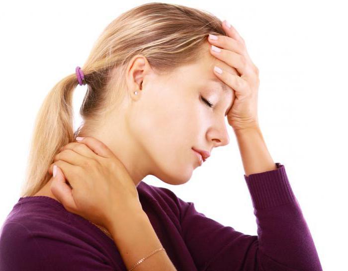 болит голова слева при наклоне