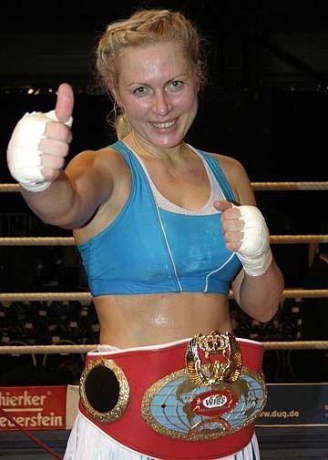 Boxing Champion Natalia Ragozina