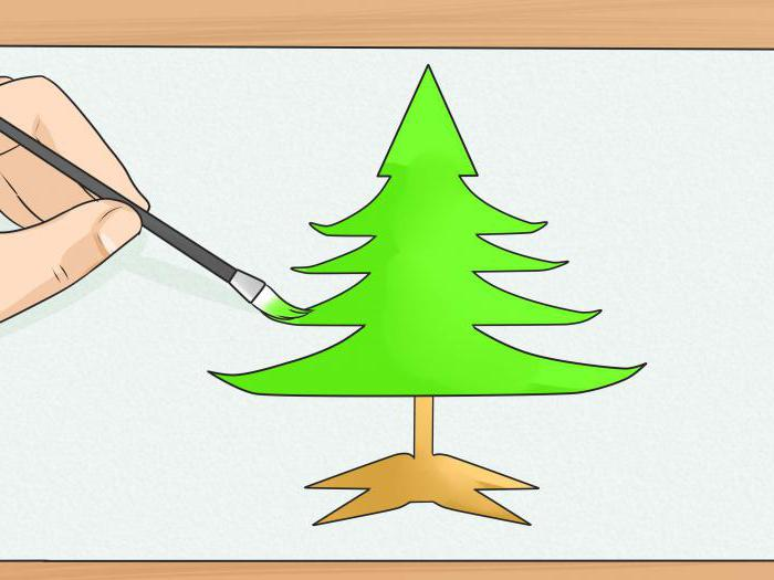 how to draw a pine pencil
