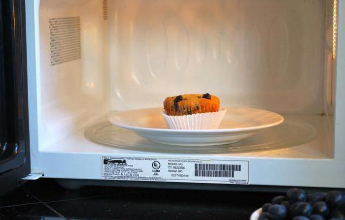 muffins in the microwave minutes