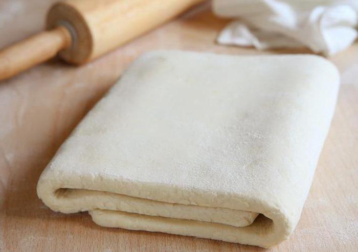 Слоеное тесто руками рецепт фото