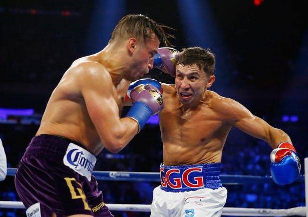 Golovkin Gennady weight