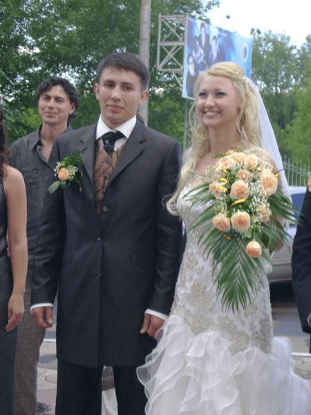 Gennady Golovkin's wife