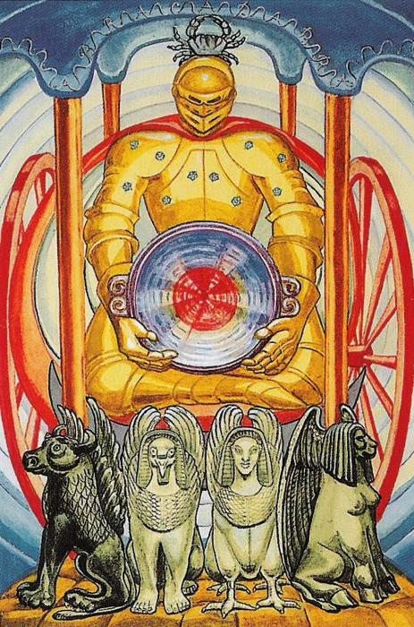 chariot tarot meaning in relationship