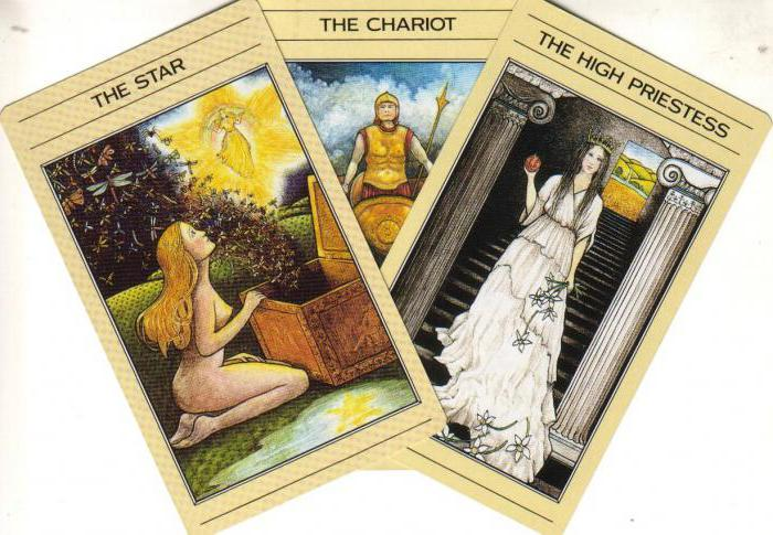 layouts tarot chariot