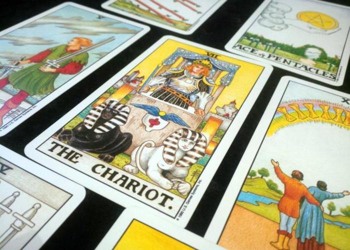 tarot chariot value
