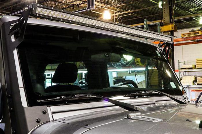 LED roof beams
