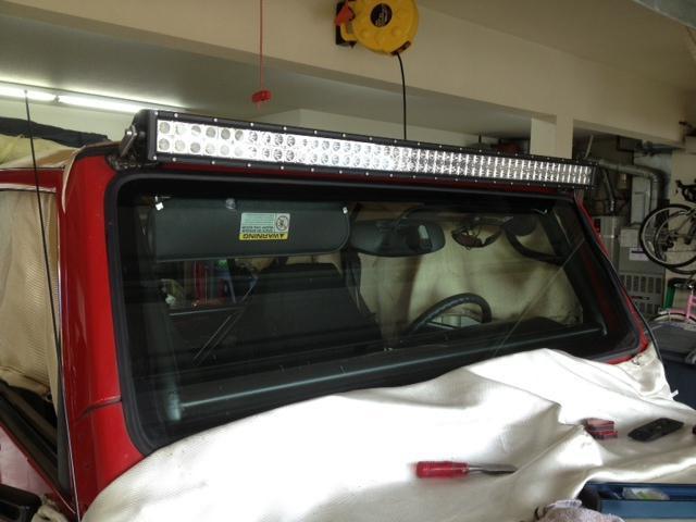 LED beams