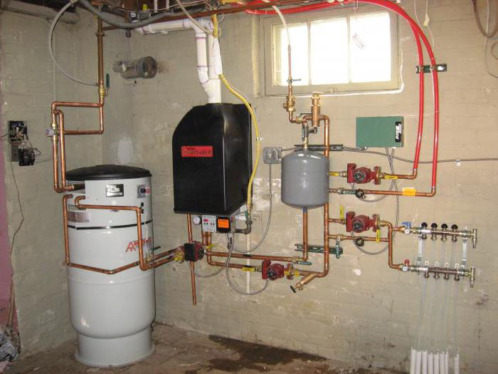 private house gasification project