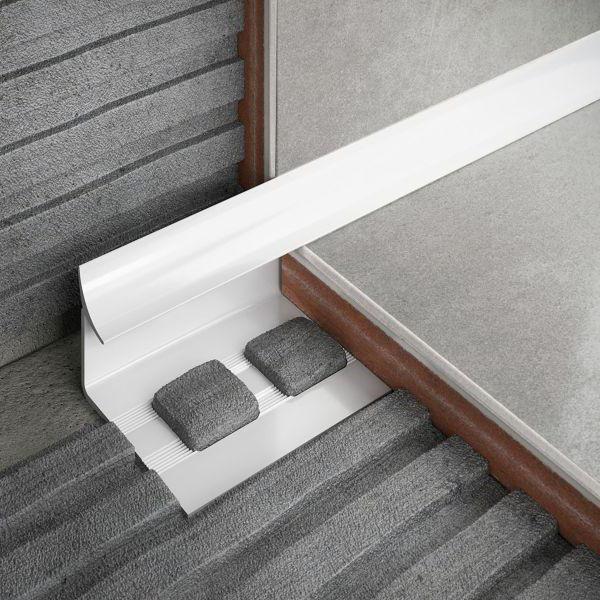 PVC border for the bathroom