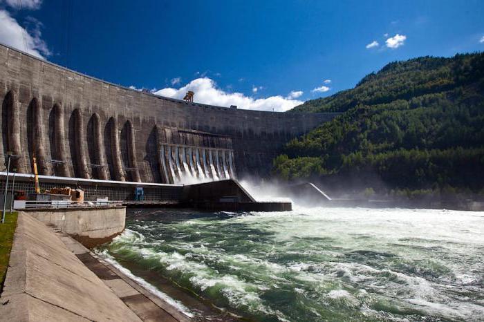 Shushenskaya hydroelectric station