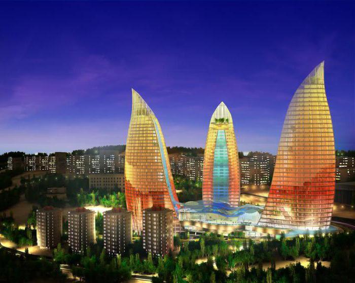 Baku city. Azerbaijan