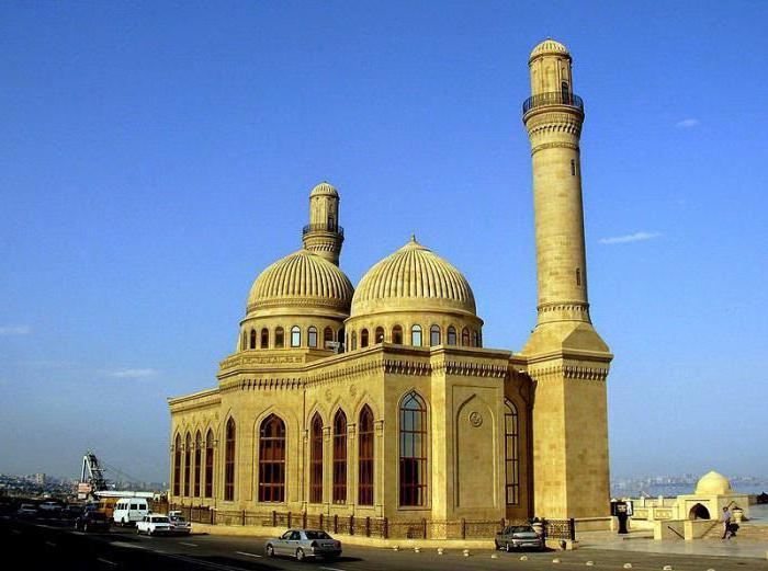 Azerbaijan. Cities