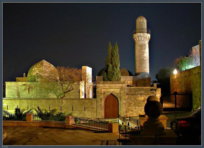 The city of Astara. Azerbaijan