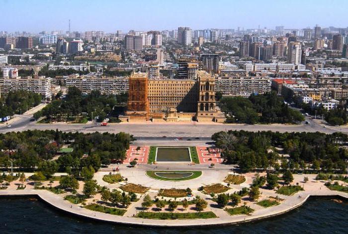 Major cities of Azerbaijan