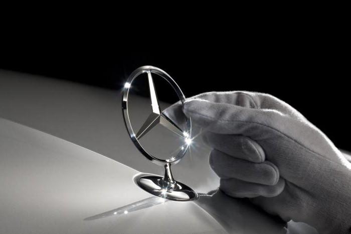 Mercedes car sign