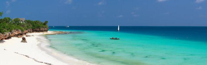 Zanzibar Island where it is located