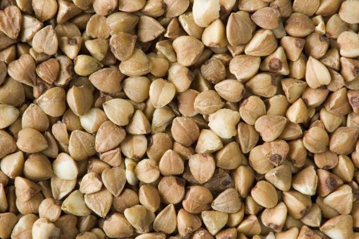 nutritional value of buckwheat 100 g