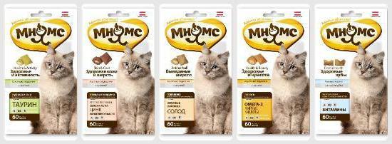 Вкусные лакомства для кошек: обзор, состав и отзывы