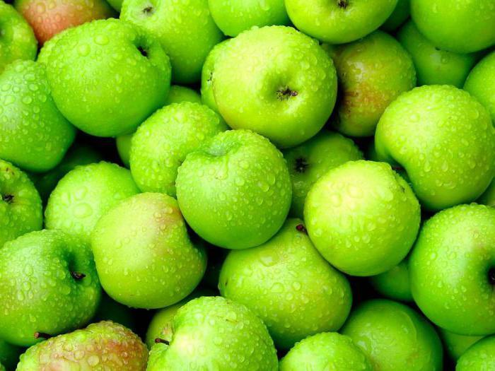 яблоко зеленое БЖУ