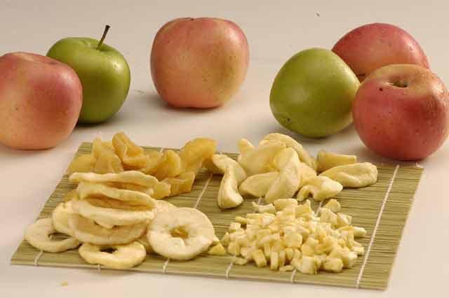 сушеные яблоки БЖУ